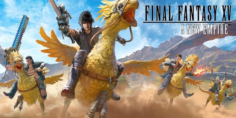 Spielen Final Fantasy XV: A New Empire on PC