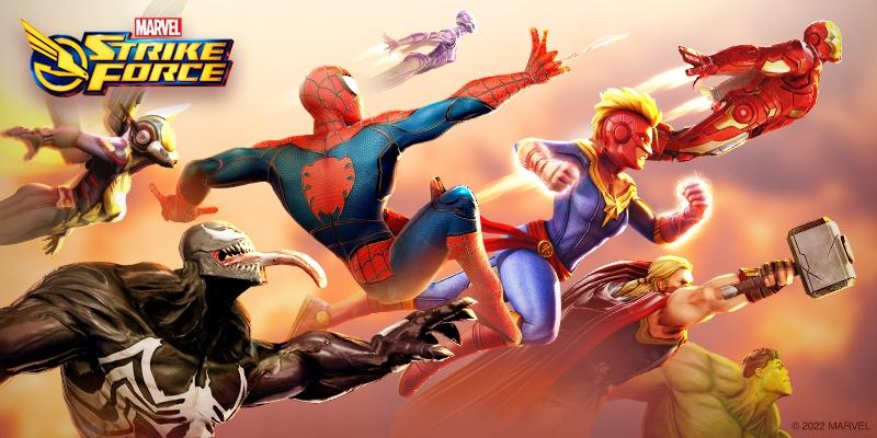 Spiele MARVEL Strike Force für PC