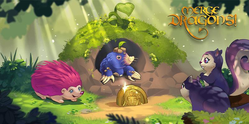 Spiele Merge Dragons! für PC