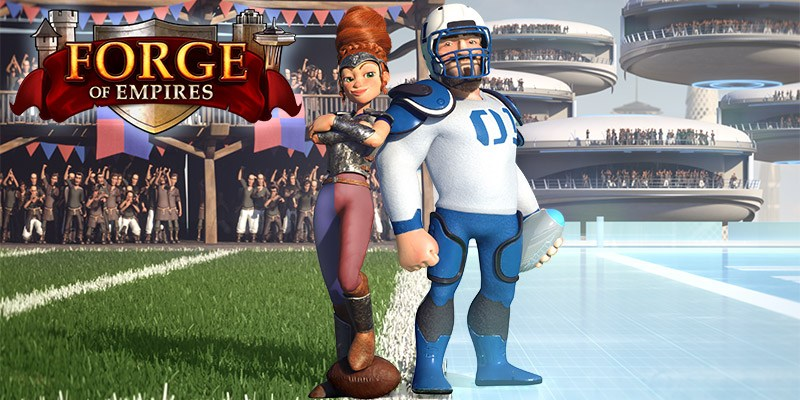 Spielen Forge of Empires on PC