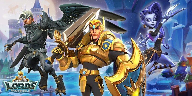 Jouez Lords Mobile: Guerre des Royaumes - Bataille RPG sur PC