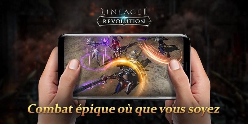 Jouez Lineage 2: Revolution sur PC