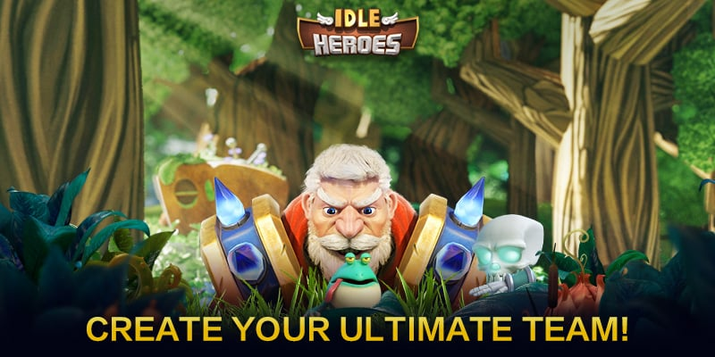 Main Idle Heroes on PC
