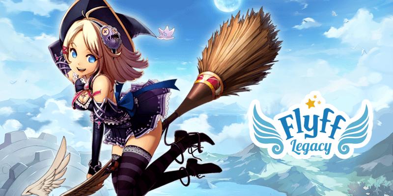 プレーする FlyffLegacy~フリフレガシー~【空を駆けるMMORPG】 on PC