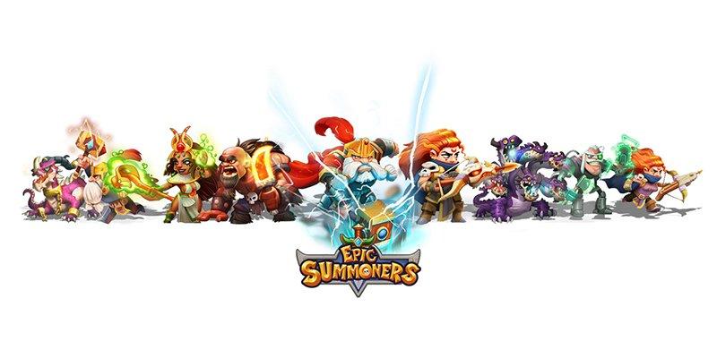 Jogue Epic Summoners para PC