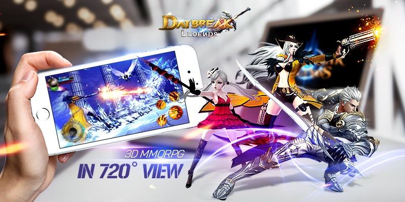 Main Daybreak Legends on PC