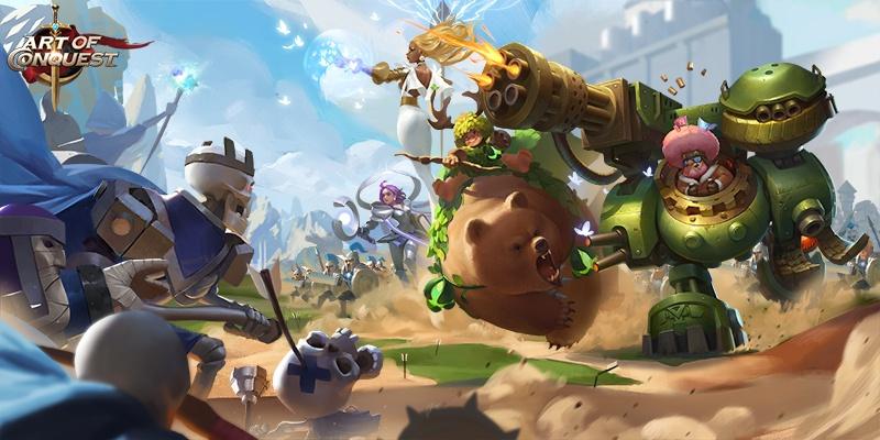 เล่น Art of Conquest on PC