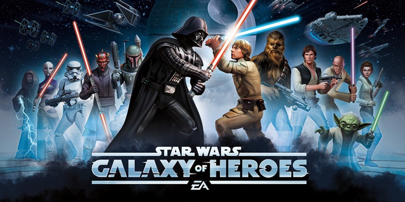 Speel Star Wars™: Galaxy of Heroes on PC